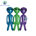 3 Pieces/set Purple Green Blue 3 Colors 90cm Alien Model Inflatable Kids Toys Boys Girls Halloween/Birthday Decoration Hot Gift