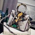 De lujo de Las Mujeres Bolsos Del Mensajero de louis Diseño Serpentina Grano Bolsos de Las Mujeres Bolsas de bloqueo de michael Bolsas cc sobre el Hombro Bolsas sac principal