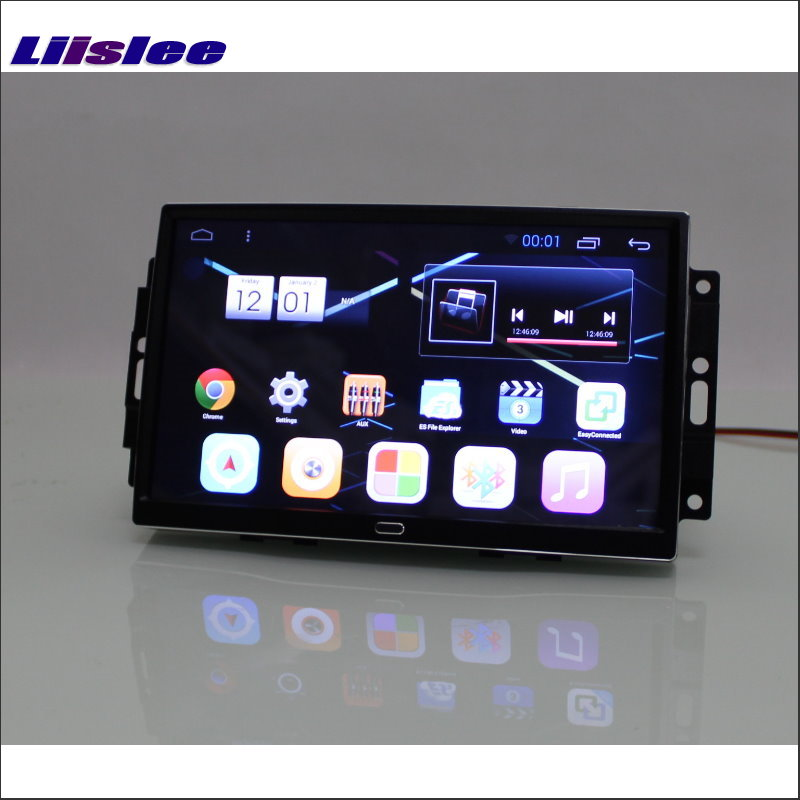 Liislee Car Android 6.0 GPS Navigation Multimedia För JEEP Compass 2006 ~ 2007 Radio Screen Audio Video Inget CD DVD Player System