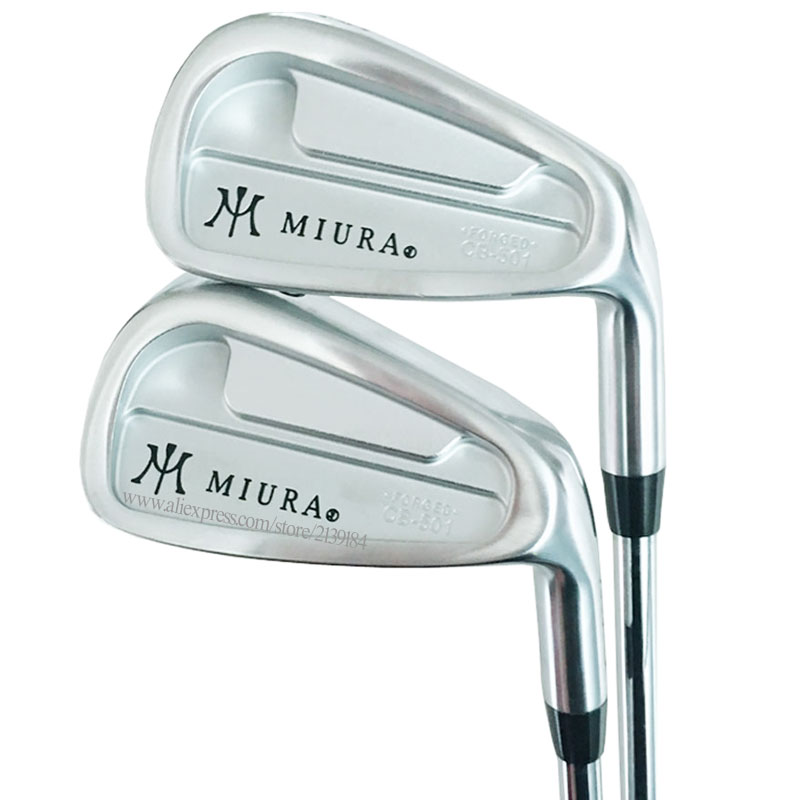 Cooyute New Men Golf Irons Set MIURA CB-501 FORGED Golf Clubs Irons 4-9P Clubs Steel Shaft R Or S Flex Golf Shaft Free Shipping