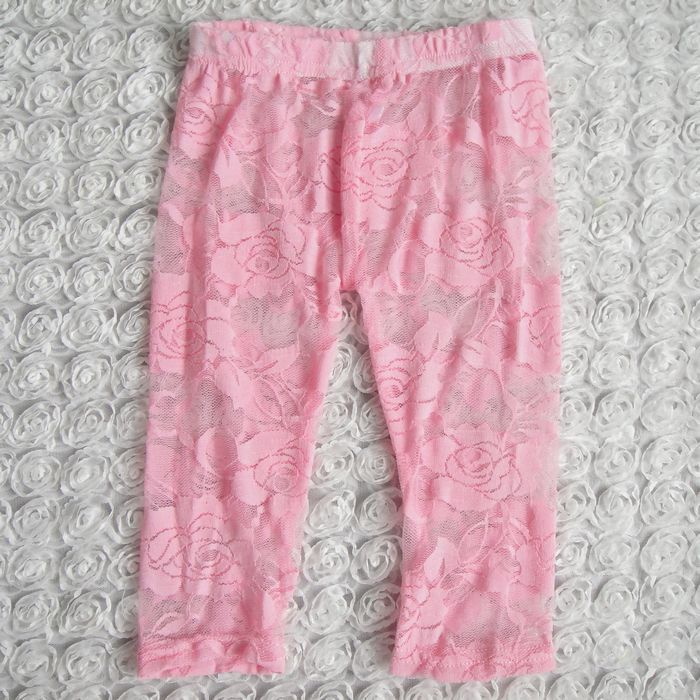 Baby Girl Lace Leggings Infant Toddler Lace Tights Leg Warmers Floral Pink Ivory black hot ...
