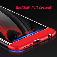Fashion Matte PC Cases For Huawei P8 Lite 2017 Case 360 Degree Full Body For Huawei