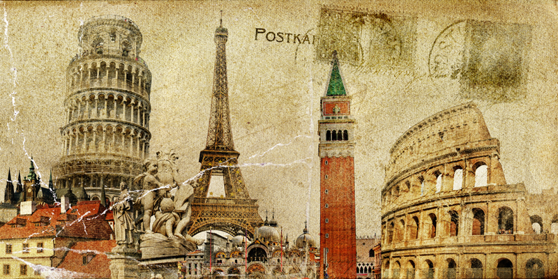 abstract art vintage style pictures canvas paintings mural prints ...