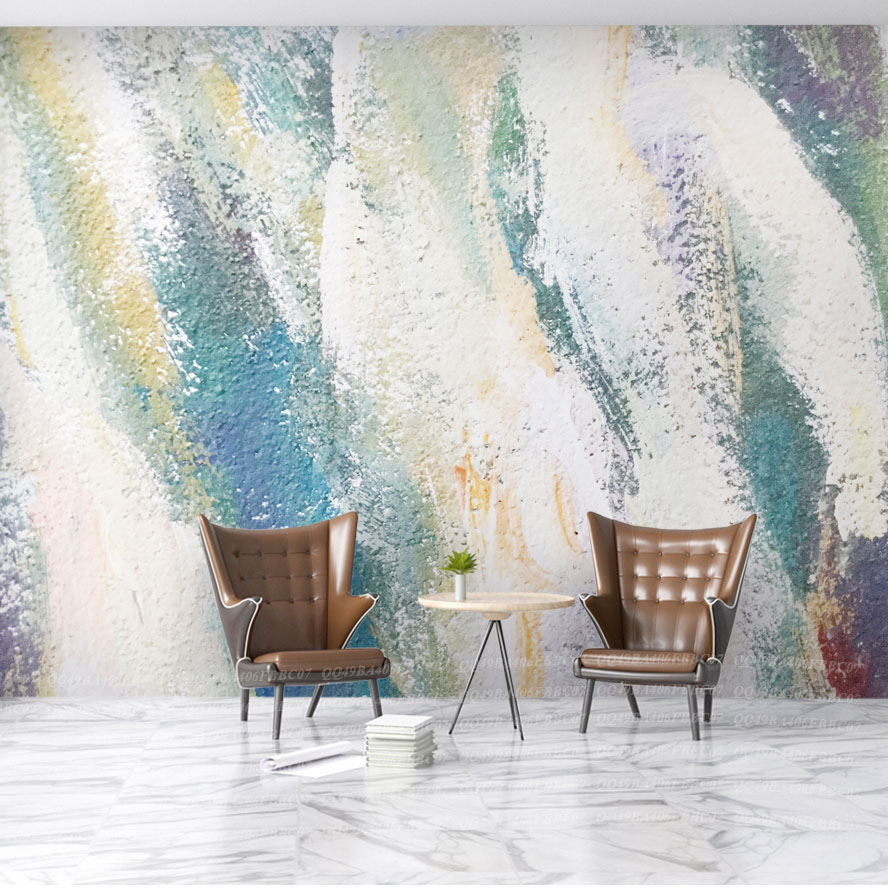 Large Papel Murals Water-painting Abstract Wallpaper 3d Wall Murals for Living Room Sofa Background Wall paper 3d Photo Murals custom 3d photo wallpaper murals hd cartoon mushroom room children s bedroom background wall decoration painting wall paper
