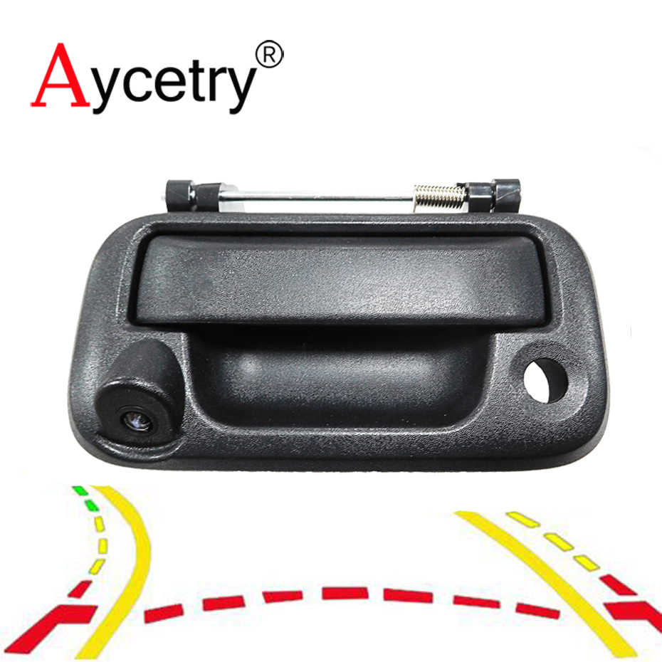 NEW Dynamic CCD DH Color Car Trunk Handle Rear View Camera for Ford F150 F250 F350 F450 F550 F650 F750 car backup parking camera