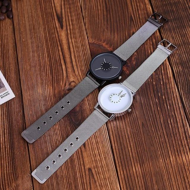 Vansvar Brand Women Fashion Stainless Steel Strap Analog Quartz Wristwatches Luxury Simple Designed Bracelet Watches Clock Hot