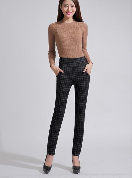 Popular Plaid Dress Pants for Women-Buy Cheap Plaid Dress Pants ...