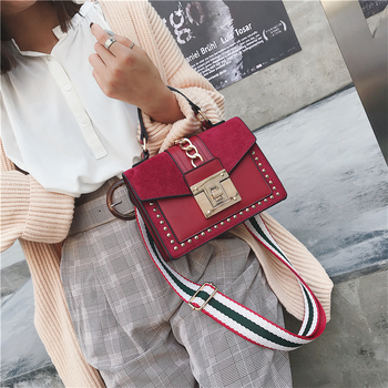 Brand Women Bags Luxury Handbags Small Crossbody Bags for Women High Quality Leather Shoulder Messenger Bag Ladies Flap Tote Red