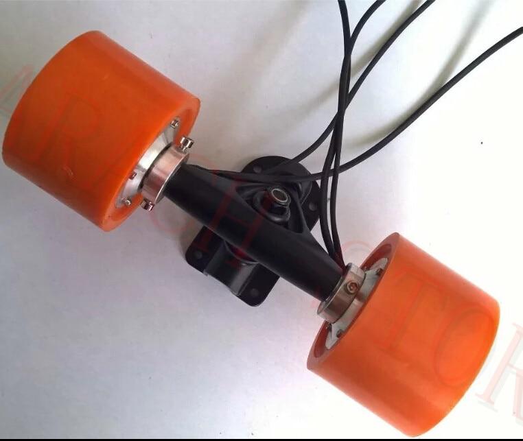 150w  36v electric skateboard conversion kit , electric skateboard longboard wheel hub motor , electric motor for skateboard