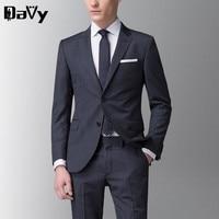 Tailor Made The Groom S Wedding Dress Men S Wedding Suits Male Custom Made Stripe Wool