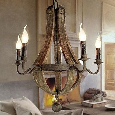 retro estilo loft droplight wood vintage colgante de accesorios de luz para comedor colgante lmpara lamparas