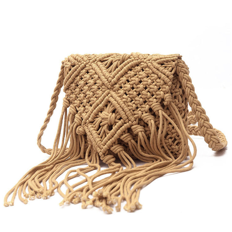 Cotton Rope Hand-Woven Bag