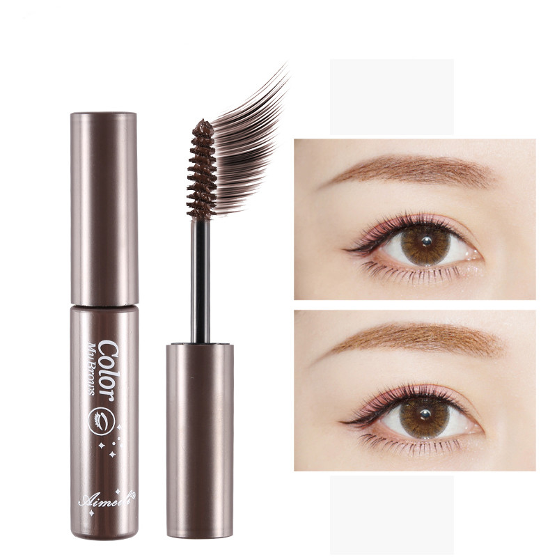 Make Up Kosmetik Øjenbryn Mascara Cream Eye Brow Skygge Makeup Set Kit Vandtæt 3 Farver Farve Øjenbryn Gel Enhancer Brown