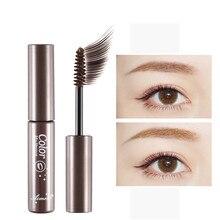 Make Up Cosmetics Eyebrow Mascara Cream Eye Brow Shadow Makeup Set Kit Waterproof 3 Colors Dye Eyebr