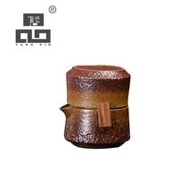 TANGPIN japanese ceramic teapot gaiwan teacup handmade portable travel tea set drinkware