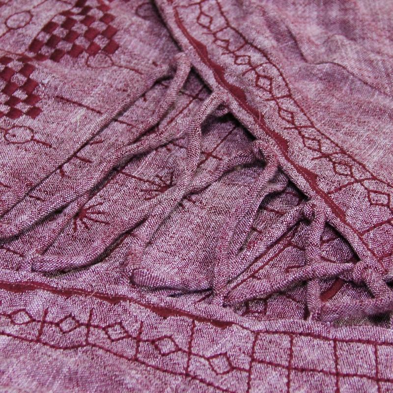 O Bandage Floral Boho Coton Robes Maxi Robe 2018 Femmes Broderie Nouveau Ligne Manches Pink Cou Lin D'été Lanterne Une 7rwpa4q7