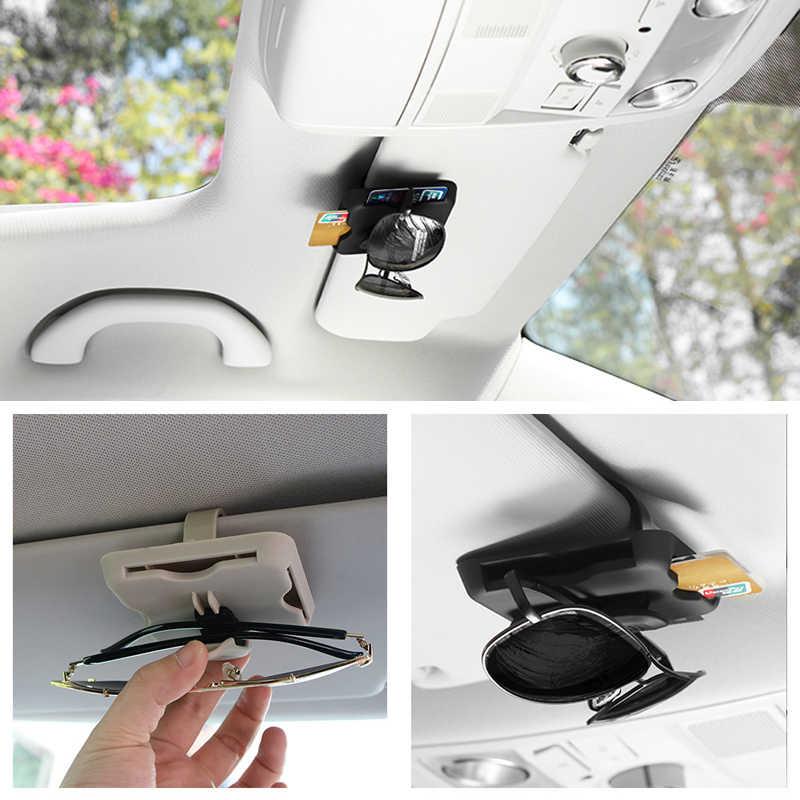Автомобильный Органайзер держатель для солнцезащитных очков для Mercedes Benz Class A Class B CLA GLA Class C Class E класс CLS S SLC SL GLC