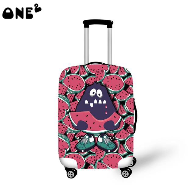 2016 ONE2 de impressão capa mole aplicar para 22,24, 26 polegada mala de viagem crianças mochila bagagem capa