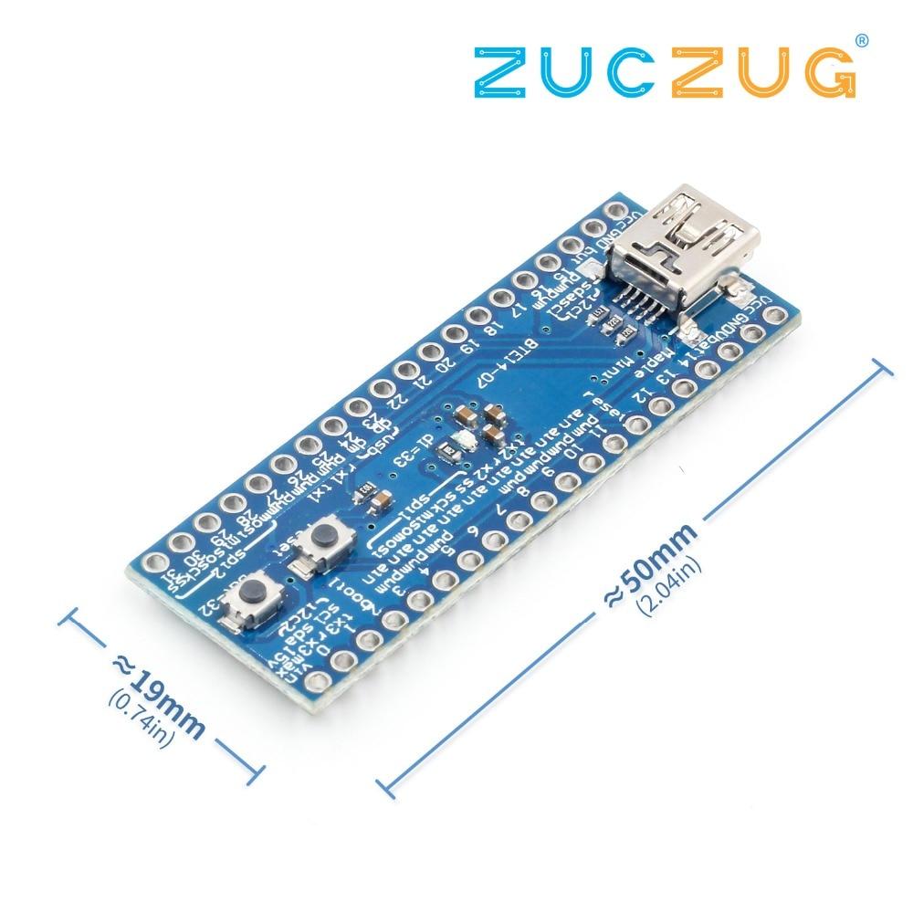 5pcs STM32F103CBT6 maple mini ARM STM32 compatibility-in Electronics