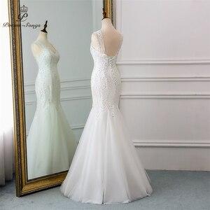 Image 3 - New beautiful sequined lace wedding dress 2020robe mariage  Vestido de noiva Mermaid wedding dresses for wedding  robe de mariee