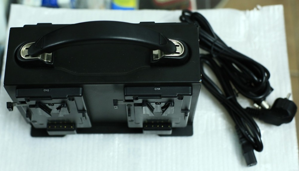 Rolux-Kamera-Video Vierkanal-V-Lock-Ladegerät - Kamera und Foto - Foto 2