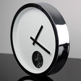 Pastorek z nerezové oceli krátký módní zařízení nástěnné hodiny kapesní hodinky moderní design