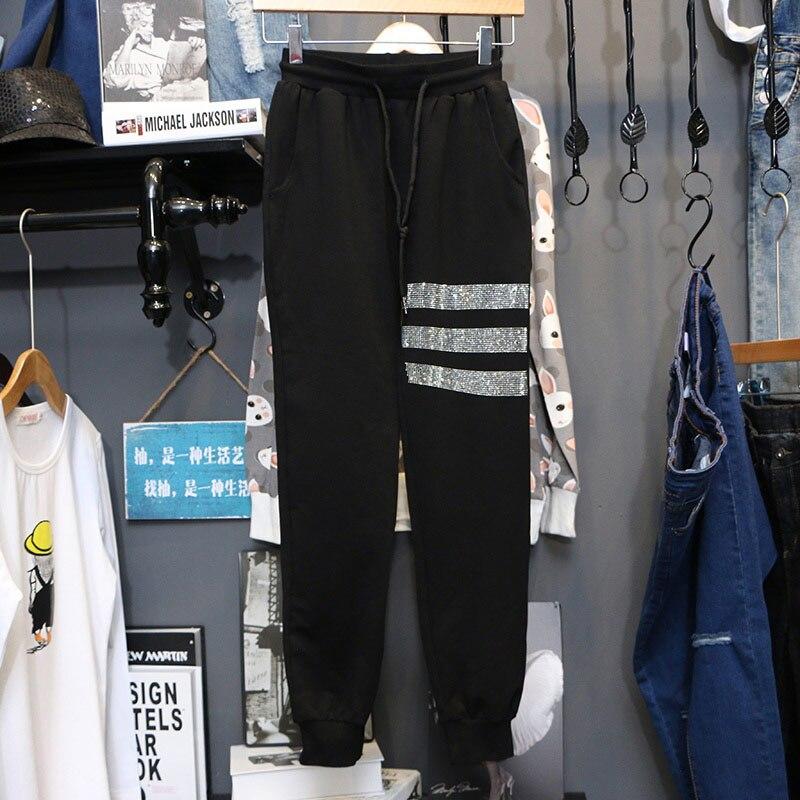Plus size 5xl calças de movimento mulheres