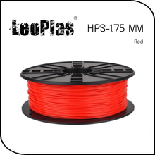 Worldwide Fast Delivery Direct Manufacturer 3D Printer Material 1kg 2.2lb 1.75mm Red HIPS Filament