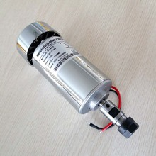 Motor de husillo de 300W, DC12 48V ER11 ER16, 12000rpm, 0.3kw, enrutador cnc, motor de eje de cnc