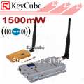 1.2GHz 1500mW Wireless AV Transmitter and 8 Channels Wireless AV Receiver, Audio/Video Output For FPV