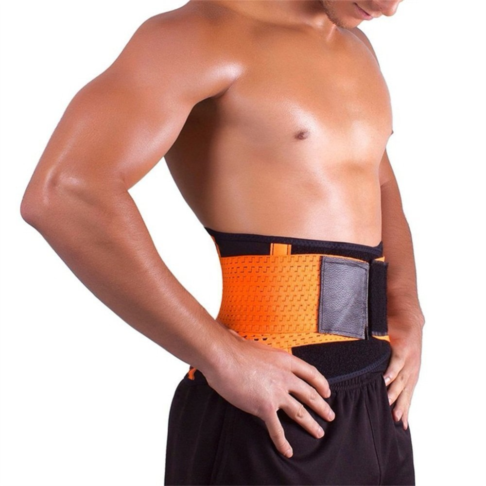81f16987d0c ... Lower Back Pain Relief. . Elastic Shaper Slim Belt Lumbar Brace  Support Belt Waist Trainer Trimmer Corset Girdle Belt Men And. sku   32919097140