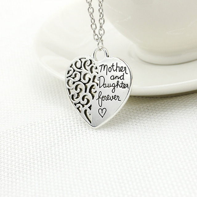 Mother Love Silver – Plated pendant & necklace exquisite alloy gifts