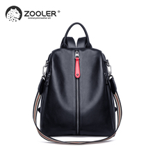 2019 NEW white travel bag ZOOLER real leather backpack women genuine leather backpacks fashion luxury backpack bags girls#HS209