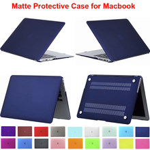 Matt Cover untuk MacBook Pro 13 TOUCH BAR A1706 A1989 A2159 Tanpa Touchbar A1708 Case 15.4 A1707 Air 13.3 11 retina 12 15(China)