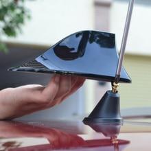 Newest car styling Car Antenna Shark fin Antenna Radio FM Signal Aerials For Volkswagen VW Polo UP Skoda Fabia Seat Leon Ibiza