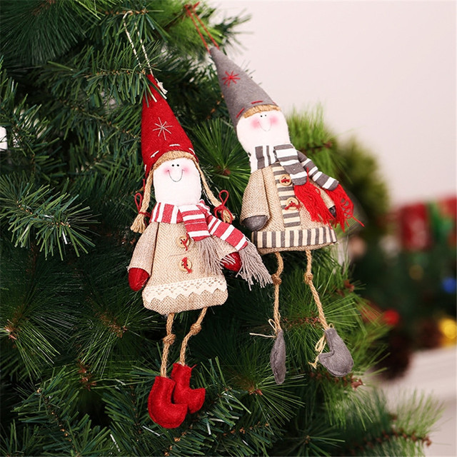 cheap 2pc american style christmas elf dolls christmas tree rh aliexpress com