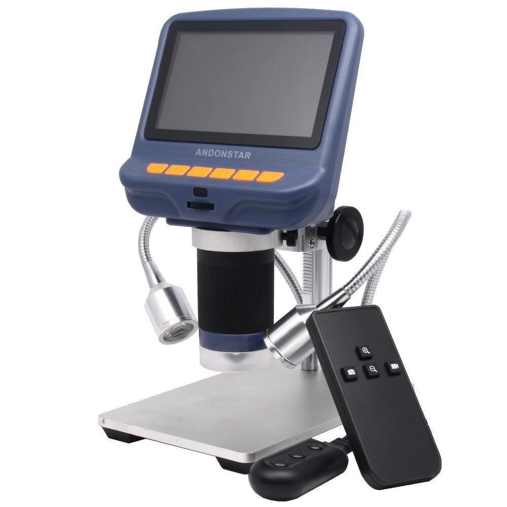 Andonstar цифровой микроскоп USB для телефона ремонт пайки инструмент bga smt jewelry оценки биологический применение детский подарок