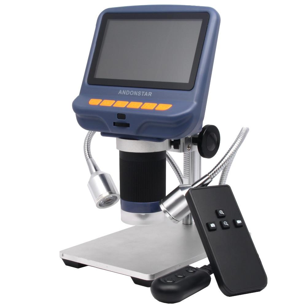 Microscope USB microscope numérique Andonstar pour outil de soudure de réparation de téléphone bga smt évaluation de bijoux utilisation biologique cadeau pour enfants