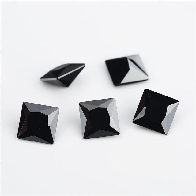Размер 1 5x1 5 ~ 12x12 мм квадратная форма вырез принцессы 5А