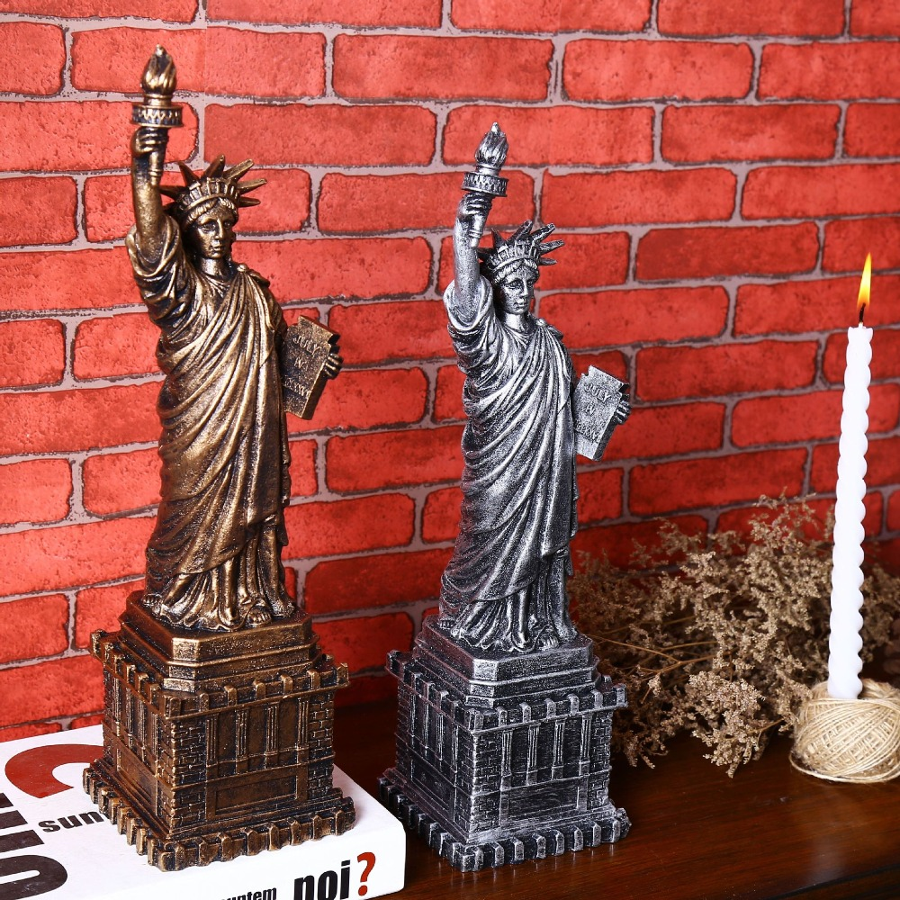 Us Statue Of Liberty Vintage Home Decor Resin Crafts Home