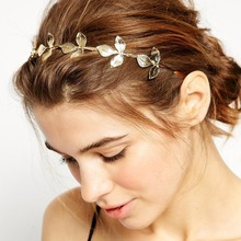 US $1.21 48% OFF|MISM Women Gold Plated Metal Leaf Headband Butterfly Hair Band Wedding Hair Accessories Tiara Elegant Silver Leaves Hair Hoop-in Women's Hair Accessories from Apparel Accessories on AliExpress - 11.11_Double 11_Singles' Day