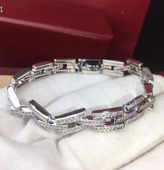 Bracelets Silver Stainless Steel Curb Cuban Link Chain Bracelets For Men Women Wholesale Jewelry Gift