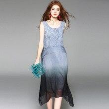 Elegant Quality Appliques Silk
