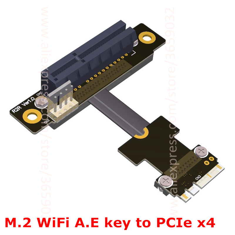 Angled Riser PCI-e x...