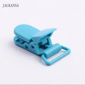 Image 5 - 100PCS 20mm KAM แบรนด์พลาสติก Dummy คลิปโปร่งใส Pacifier Clips สำหรับทารกอุปกรณ์เสริม