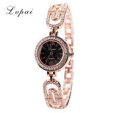 hot deal buy lvpai women quartz watches brand luxury dress watches rose gold dial women bracelet wristwatch ladies sport watch