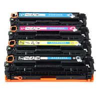 4PK 540A kaseta z tonerem CB540 541 542 543 dla HP color laser jet 1215/1515/1518 darmowa wysyłka