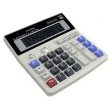 GRAN Nueva Oficina calculadora de la computadora Grande ds-200ml PLUS Oficina Grandes Teclas Del Ordenador Calculadora Solar