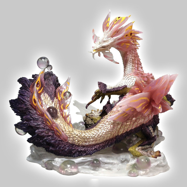 2018 New Monster Hunter Game Model Monster Hunter X Dragon Model Collectible Monster Figures Action 1