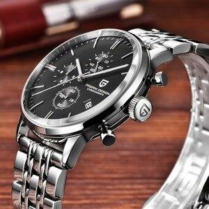 Image 4 - Pagani design 탑 럭셔리 브랜드 방수 쿼츠 시계 남자 스테인레스 스틸 패션 시계 스포츠 남자 시계 relogios masculino